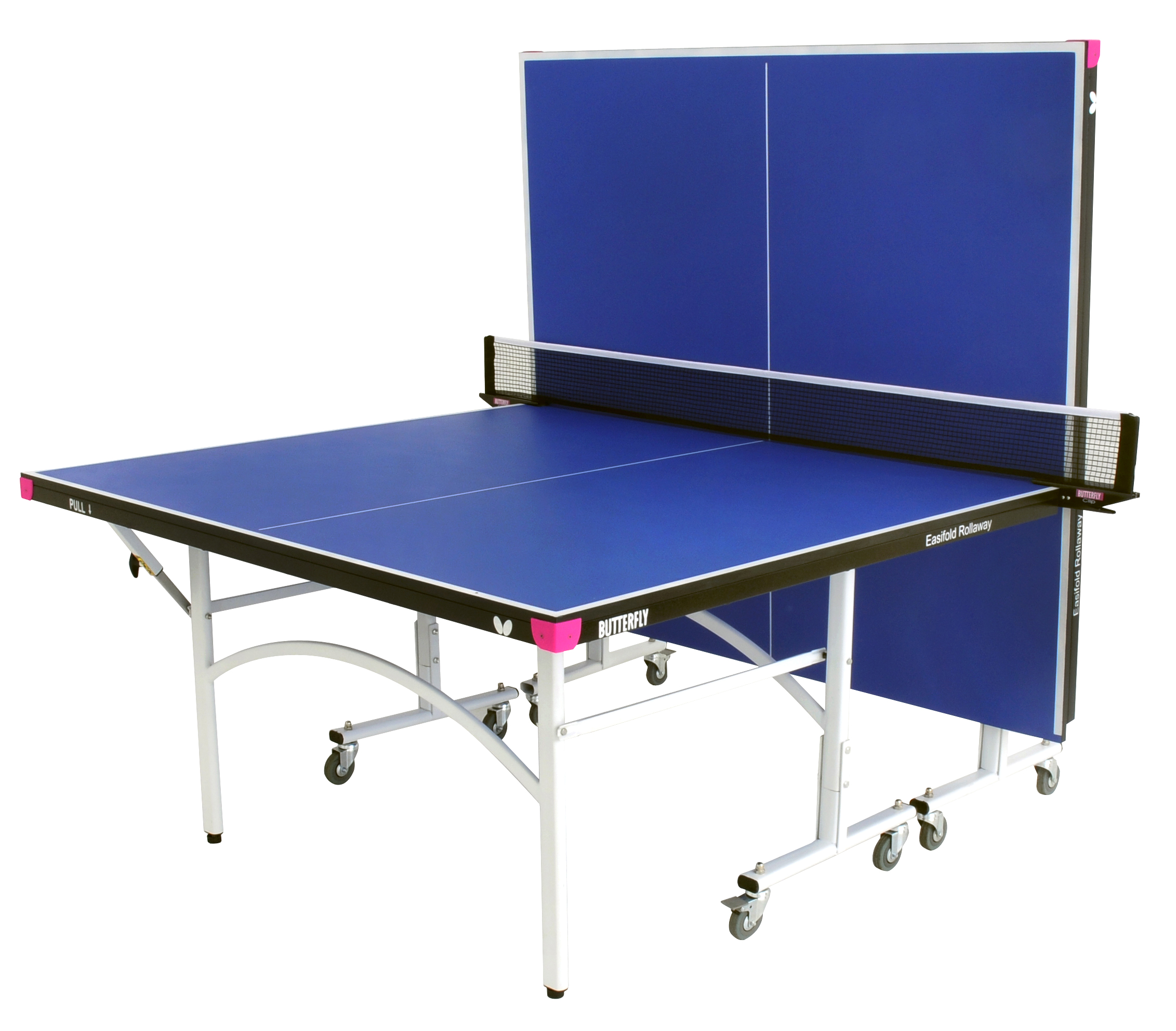 Butterfly Easifold Indoor Table Tennis Table- blue - Ok Sports and Games
