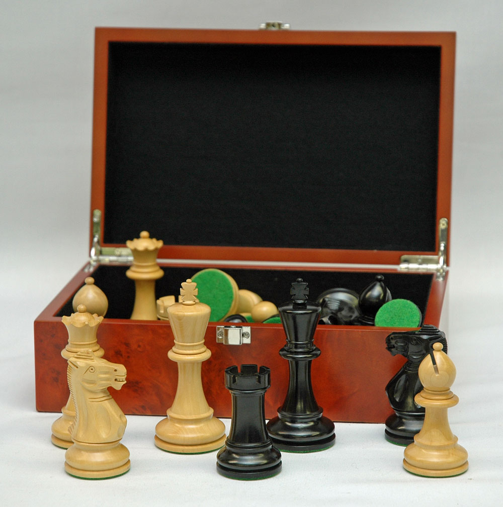 Chess Pieces Staunton Style No 9137 Ok Sports And Games