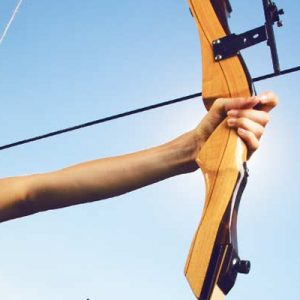 H - Archery Bow & Arrows