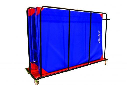 0904V Vertical Mat Trolley (with mats)