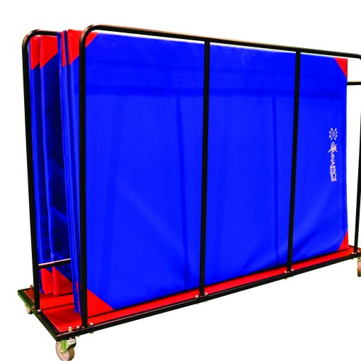 0904V Vertical Mat Trolley (with mats)