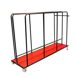 0904V Vertical Mat Trolley (without mats)