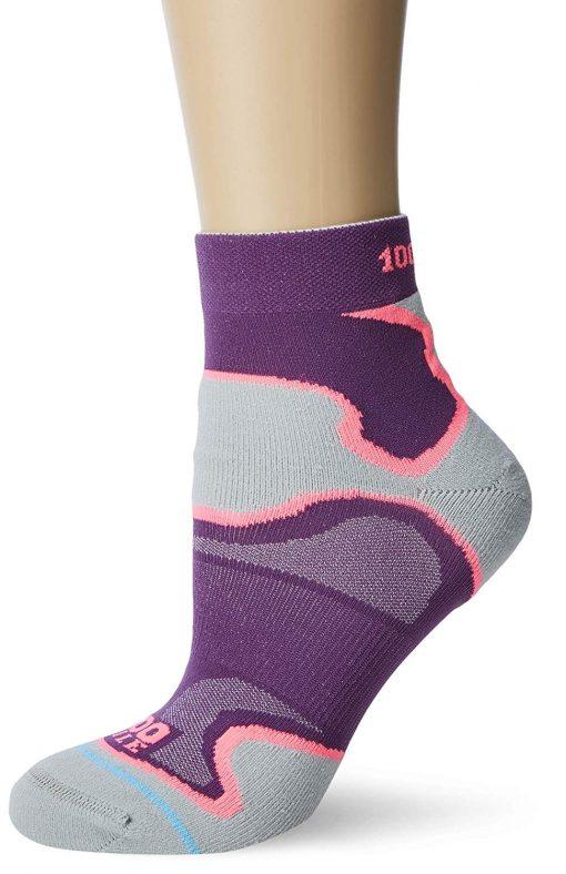 ladies fusion anklet purple