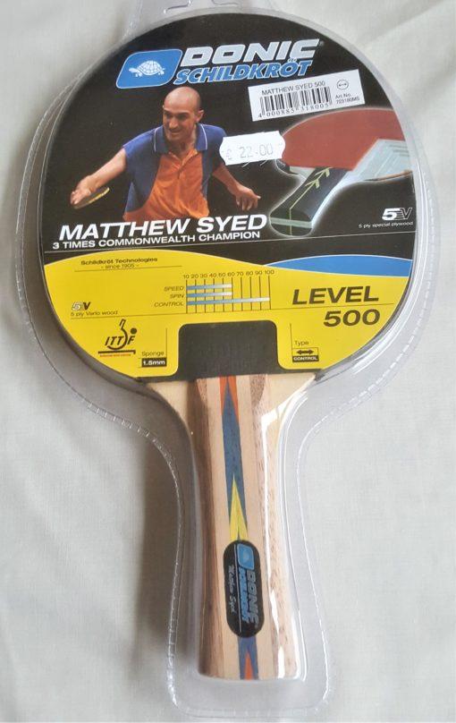 TT Bat Mathew Syed 500