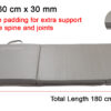 0901TC30-G Tri Fold 30mm Mat_Size