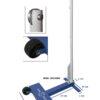 4495905 SS Educational Badminton Post_Measurements